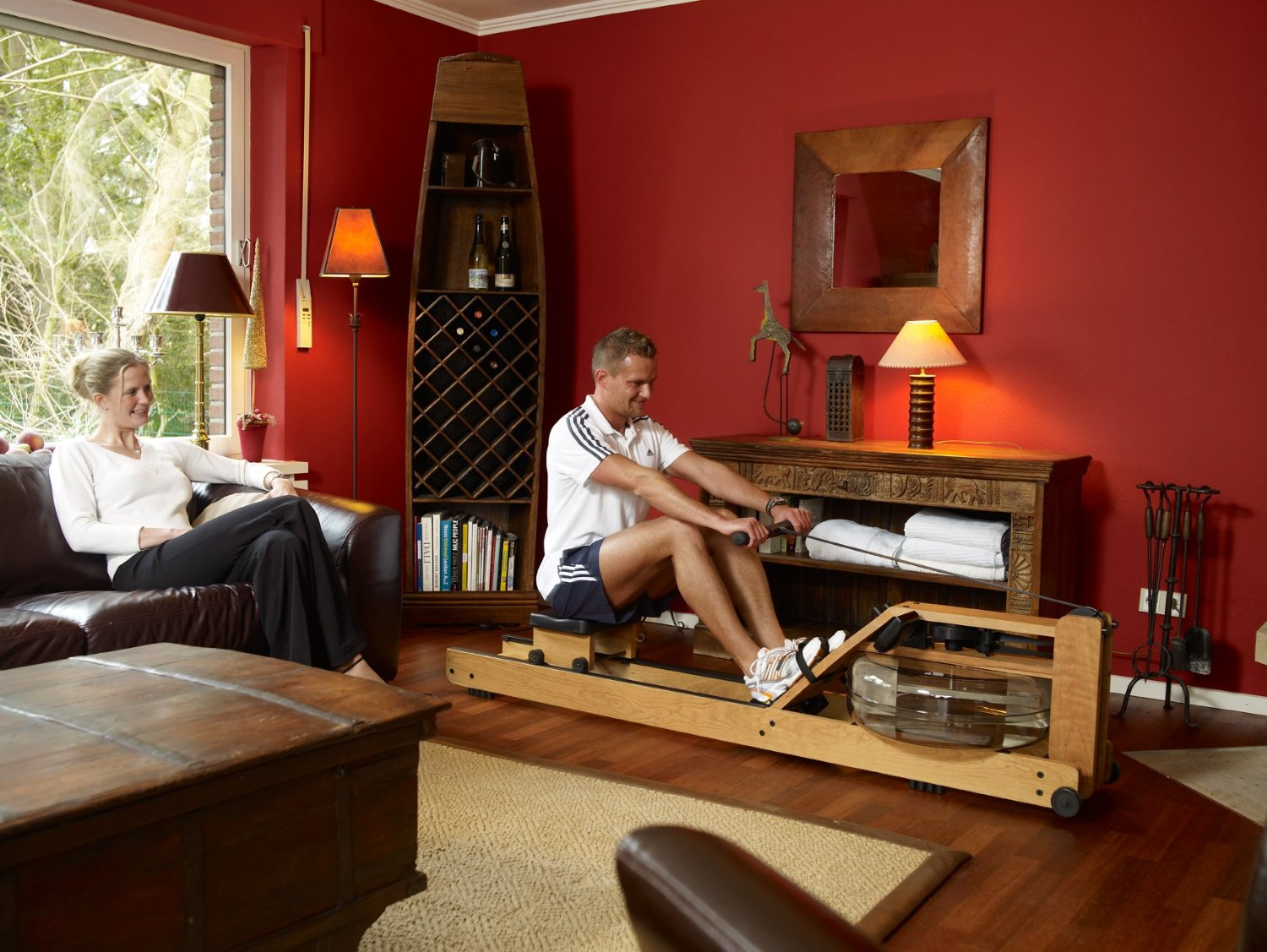 Waterrower a1 home rowing machine review fit clarity - Waterrower house of cards ...