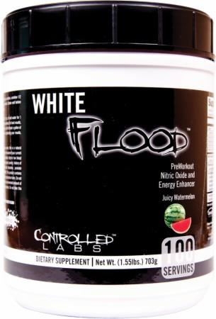 White flood pre workout