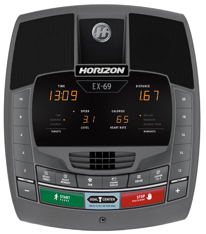 Horizon Elliptical Ex 69 Manual: Horizon Fitness EX-69 Review