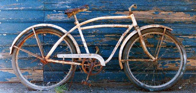 Rusty Bike Parts