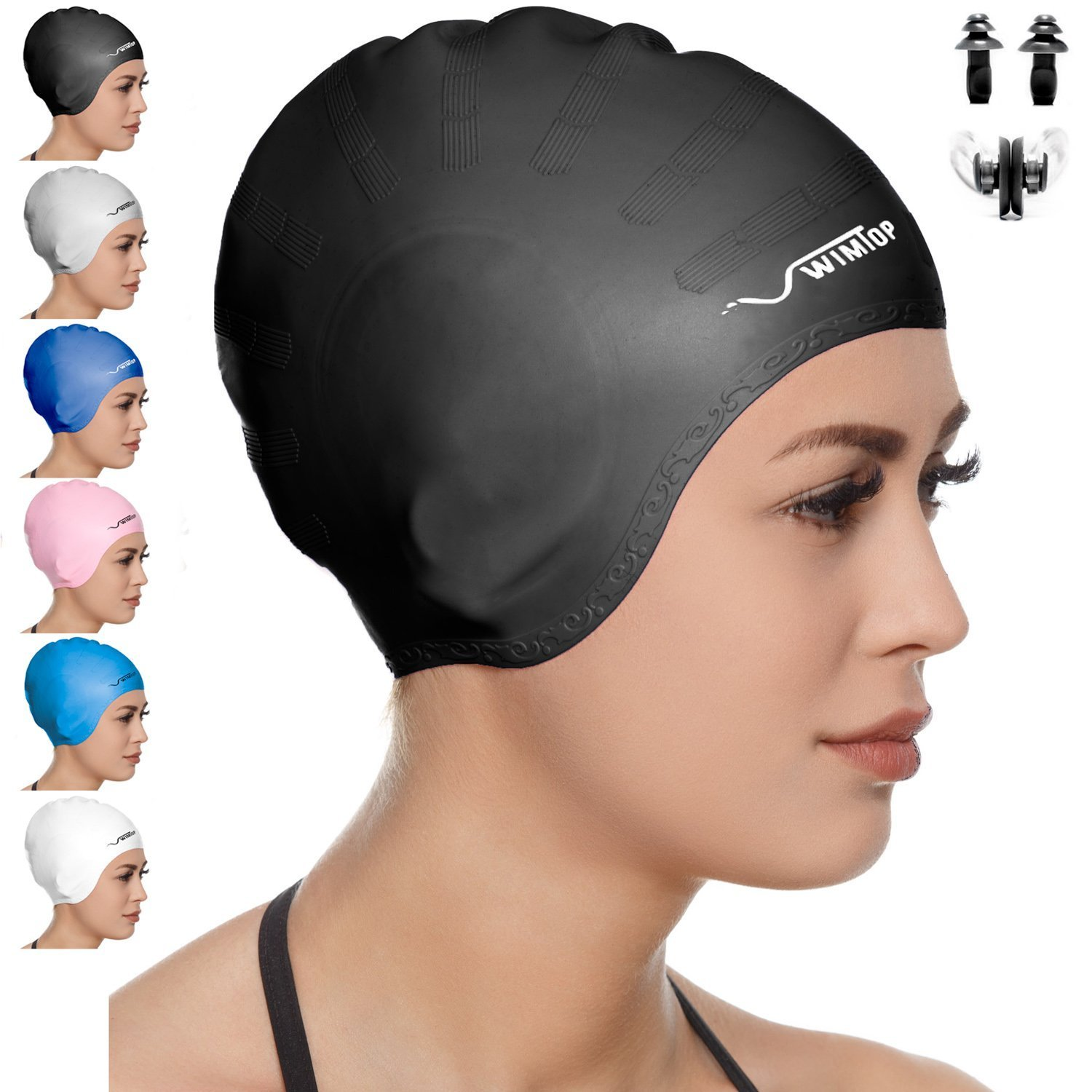 Three Best Swim Caps For Long Hair Fit Clarity