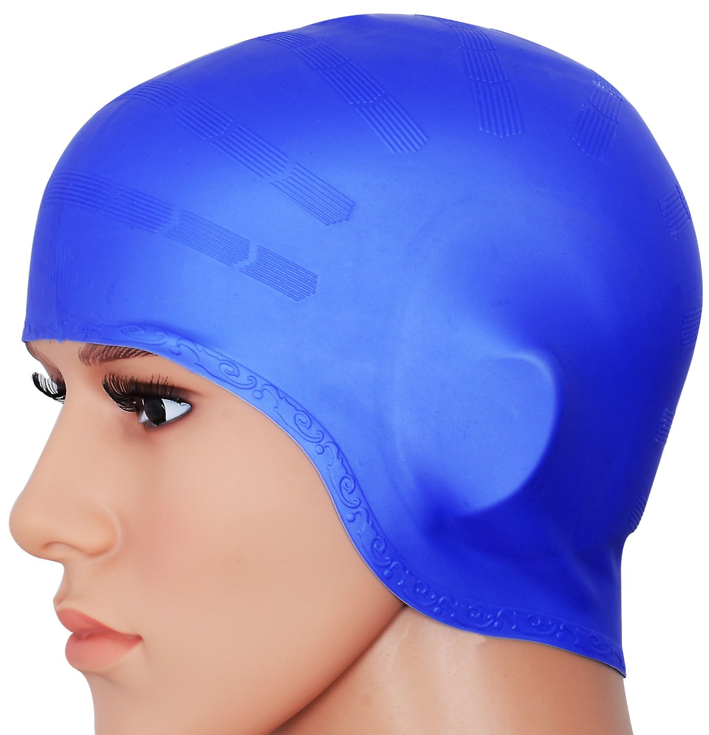 edcc7357add Best Waterproof Swim Cap To Keep Your Hair Dry - Fit Clarity